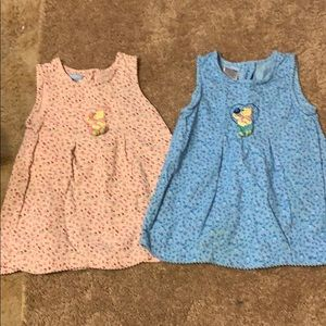 2 Disney Winnie the Pooh Toddler jumpers. Size 3T